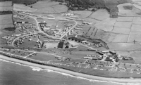 Tonfanau Camp from the air